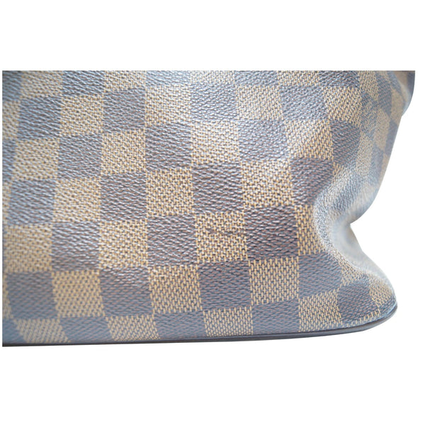 LOUIS VUITTON Saleya GM Damier Ebene Shoulder Handbag-US
