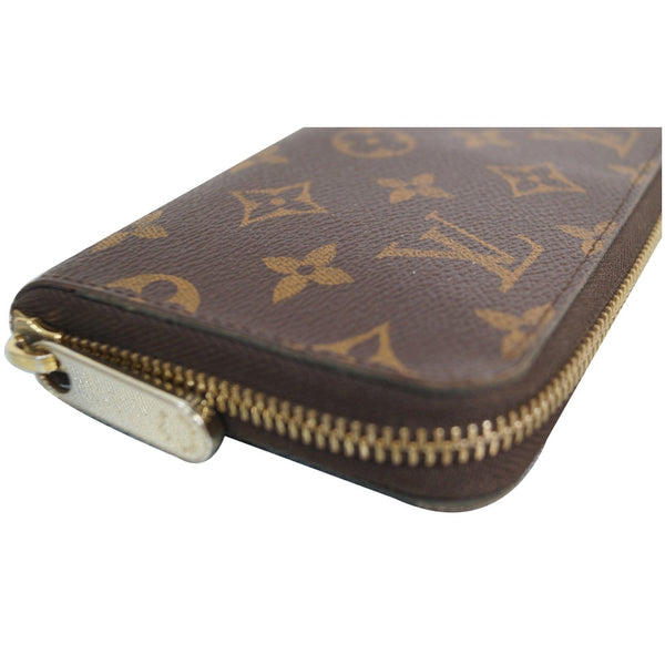 Louis Vuitton Monogram Zippy Canvas Organizer Wallet side view