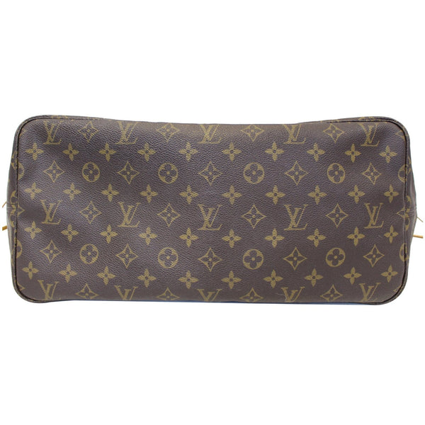 Louis Vuitton Neverfull GM Monogram Tote Shoulder Bag - back view