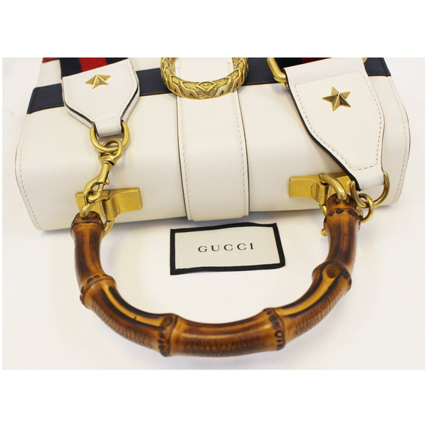 Gucci Bag Dionysus Leather Medium Top Handle White for sale