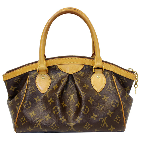 Front look lv Tivoli PM Monogram Canvas Shoulder Bag