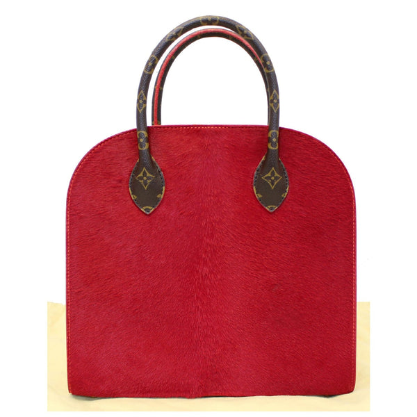 Louis Vuitton Christian Louboutin - Lv Monogram Shopping Bag - red
