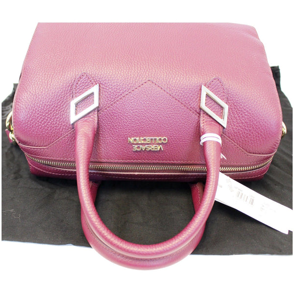 Versace Barrel Shaped Shoulder Bag - Handle