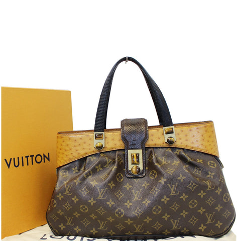 LOUIS VUITTON Oskar Waltz Monogram Canvas Shoulder Bag - Daily Deal