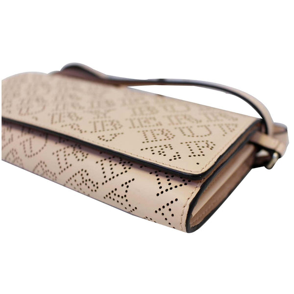 Burberry Crossbody Bag Hampshire Perforated Leather - side view