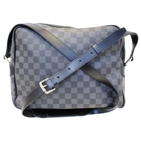 LOUIS VUITTON Damier Graphite Sac Leoh Messenger Bag