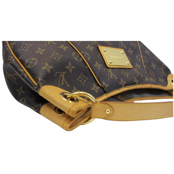 Louis Vuitton Galliera PM Shoulder Handbag - left side view