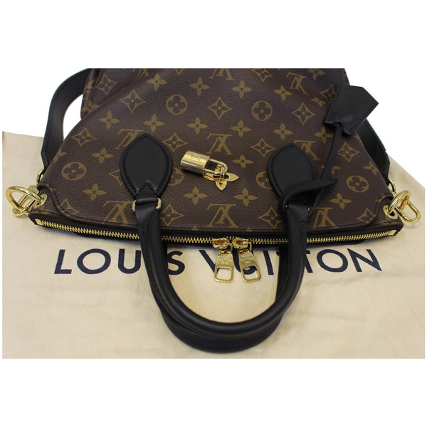 Louis Vuitton Flower Tote Zipped PM Monogram Shoulder Bag - lv strap