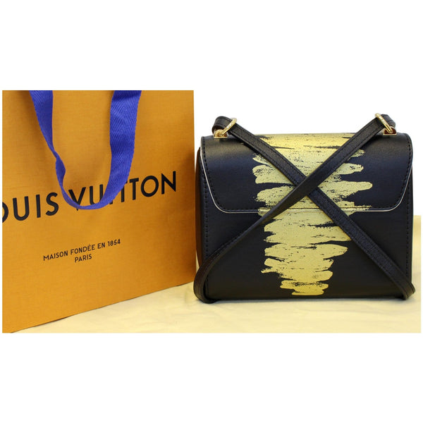 Louis Vuitton Twist PM Calfskin Leather Bag Full View