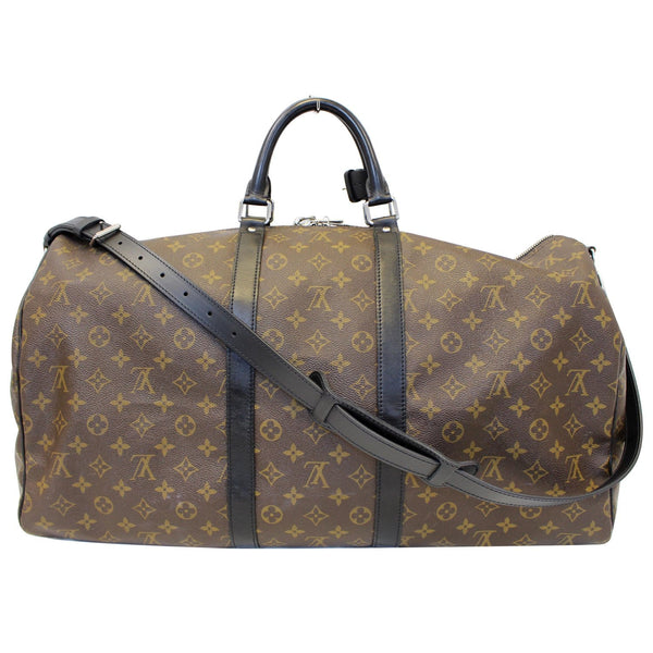 Louis Vuitton Keepall 55 Bandouliere Travel Bag - full view