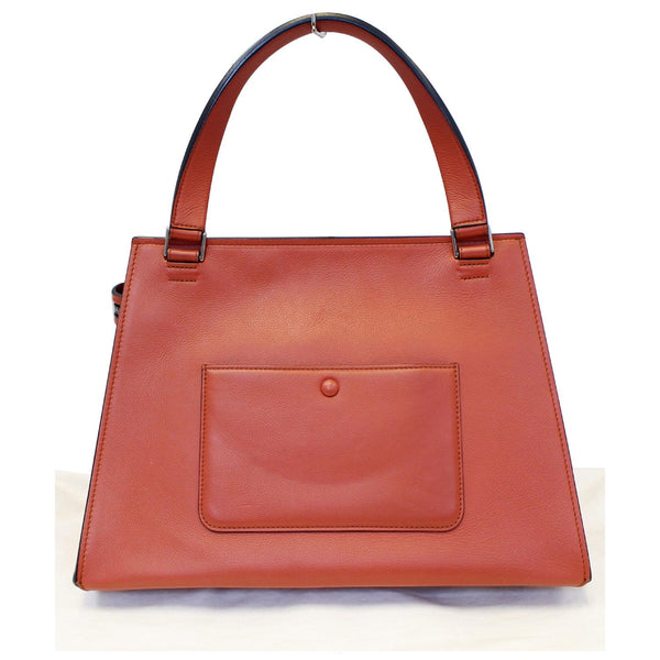 Celine Edge Smooth Calfskin Leather Bag-Back