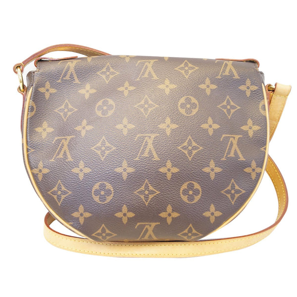LOUIS VUITTON Saint Cloud NM Monogram Canvas Crossbody Bag Brown
