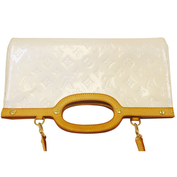 Louis Vuitton Leather Roxbury Drive Vernis Shoulder Bag - gold strap