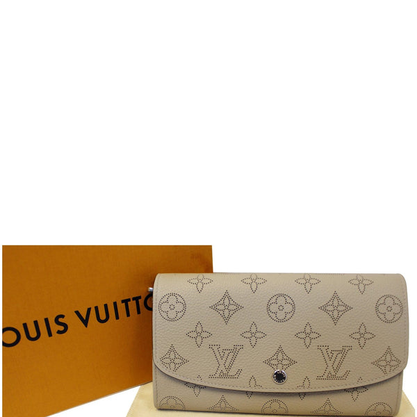 Louis Vuitton Iris - Louis Vuitton Mahina - Lv Wallet - front view