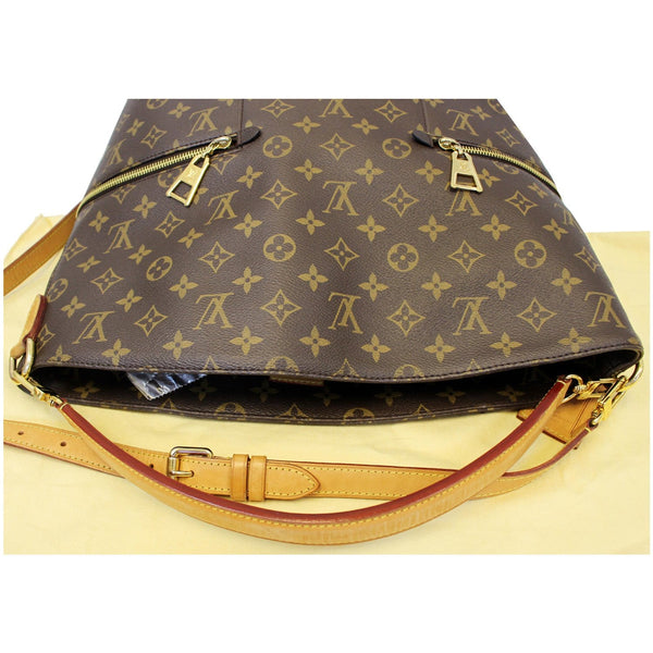 LOUIS VUITTON Melie Monogram Canvas Hobo Shoulder Bag Brown-US