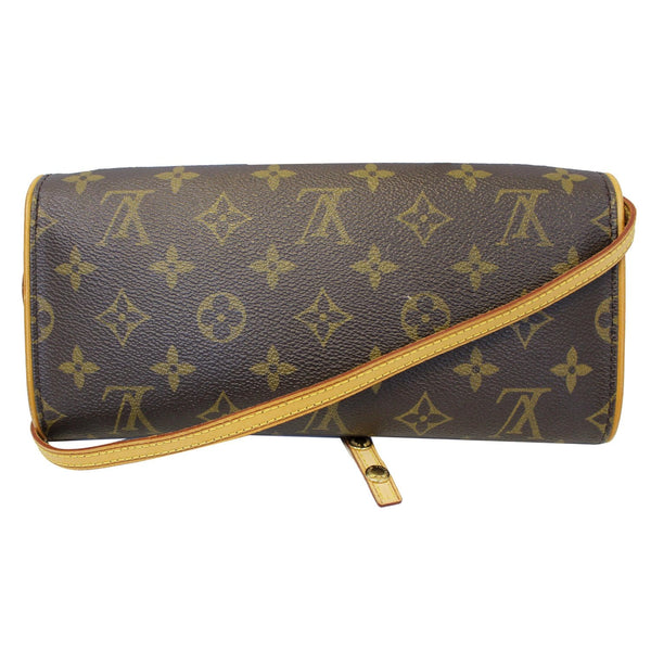 Louis Vuitton Pochette Twin Monogram Canvas Shoulder Bag strap
