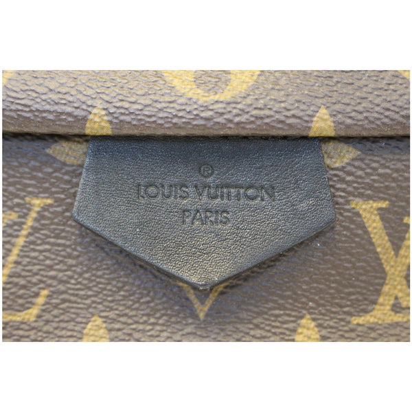 LOUIS VUITTON Palm Springs MM Monogram Canvas Backpack Bag-US