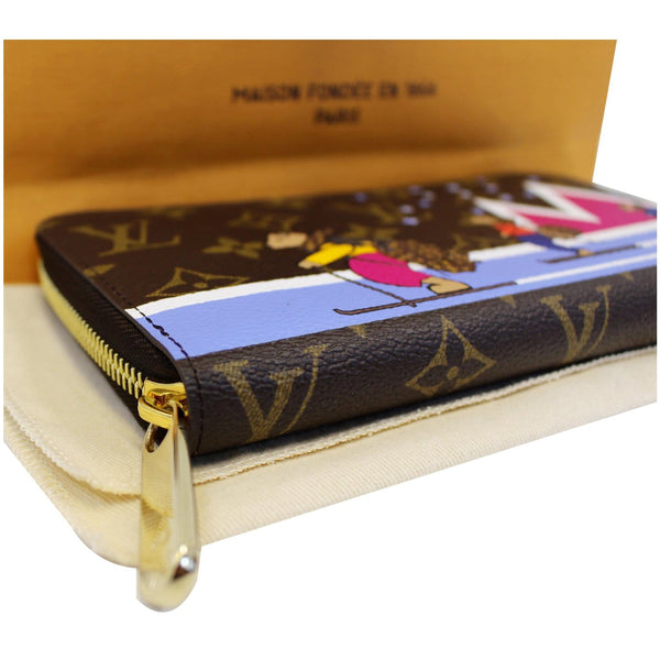 Louis Vuitton Holiday Zippy Wallet - Lv Monogram Wallet - lv zip
