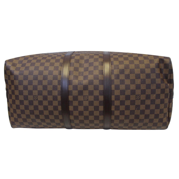Louis Vuitton Keepall - Lv Damier Ebene Travel Bag - pre loved