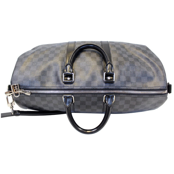 Louis Vuitton Keepall 45 Damier Bandouliere Travel Bag - bag handles