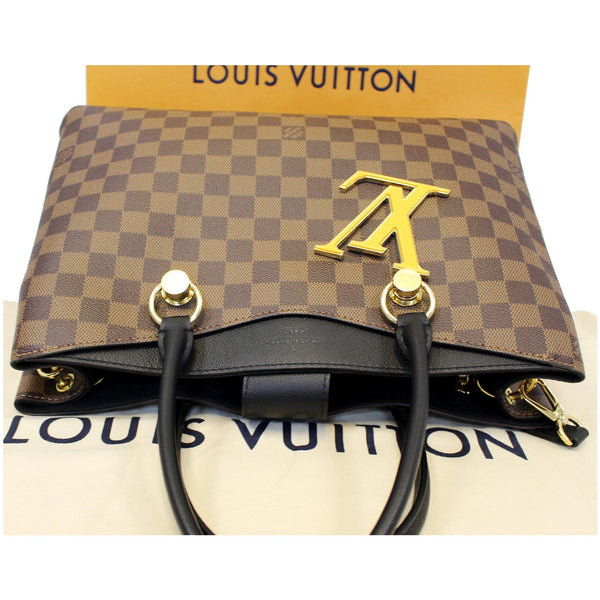 LOUIS VUITTON LV Riverside Damier Ebene Shoulder Bag Noir-US