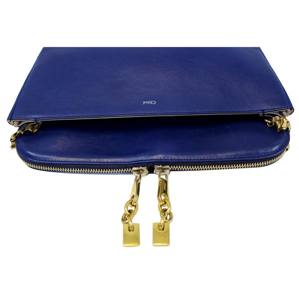 Chloe Shoulder Bag Lucy Medium Leather - bottom view