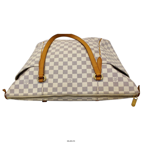 Louis Vuitton Totally GM Damier Azur Tote Bag - front view