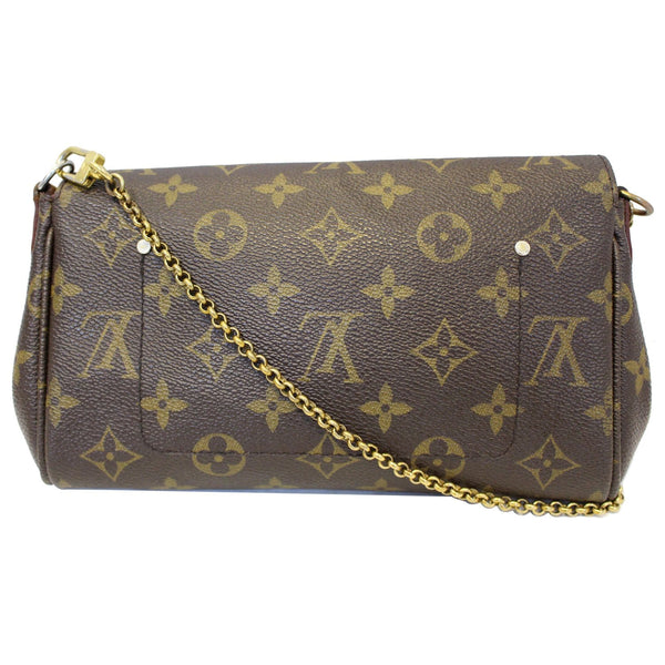 Louis Vuitton Favorite PM Monogram Canvas Bag - back view