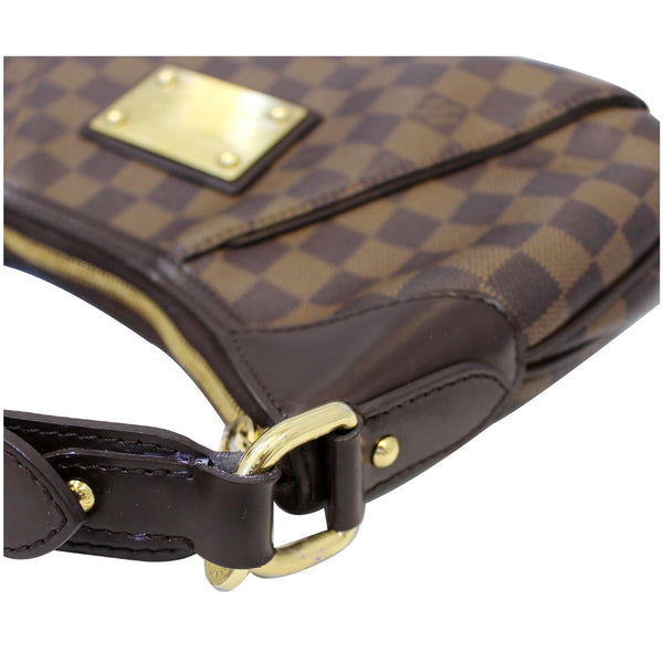 Side View lv Thames PM Damier Ebne Shoulder Bag