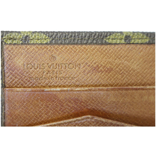 Louis Vuitton Wallet Monogram Canvas Vintage Flap - inside view