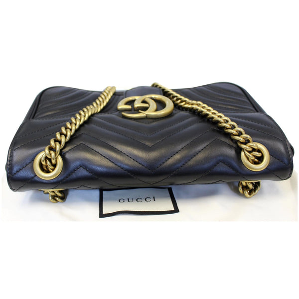Gucci GG Marmont Small Matelasse Leather Crossbody Bag on sale