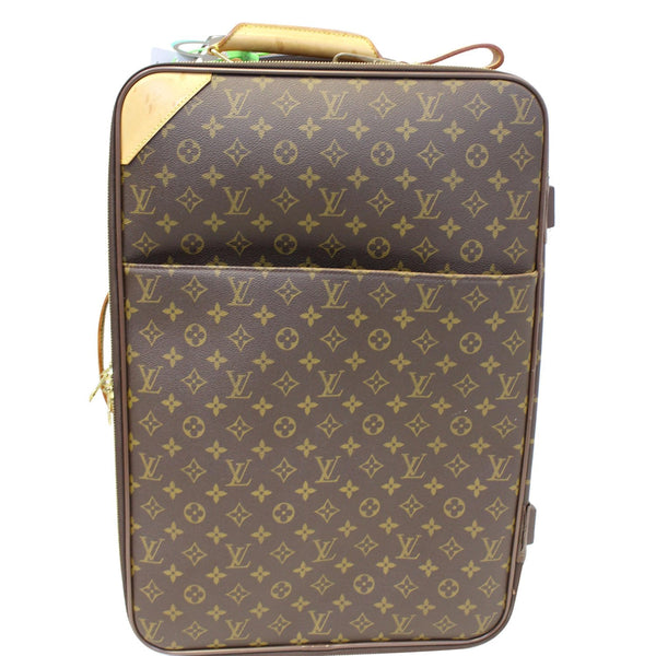Louis Vuitton Pegase 55 Monogram Canvas Travel Bag