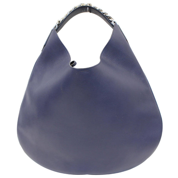 Givenchy Hobo Bag Infinity Medium Leather Blue - strap