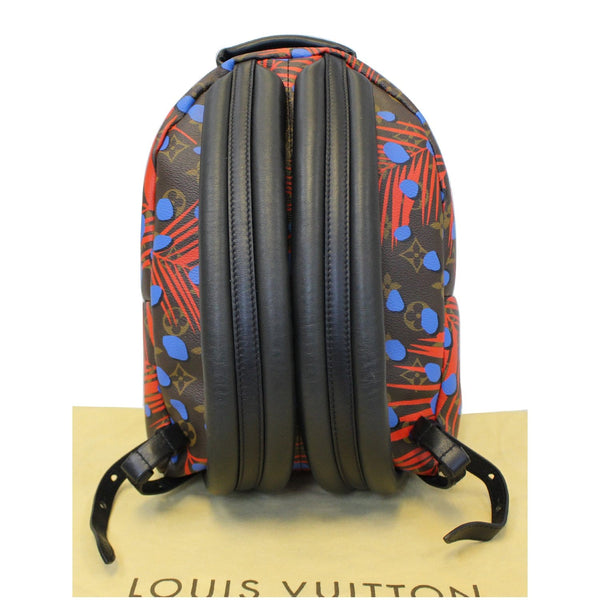 LOUIS VUITTON Palm Springs PM Monogram Jungle Dots Backpack Bag Brown