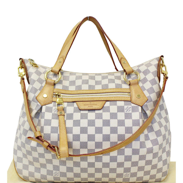 LOUIS VUITTON Evora MM Damier Azur Tote Shoulder Bag