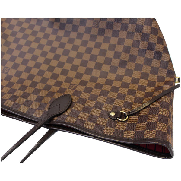 LOUIS VUITTON Neverfull GM Damier Ebene Tote Shoulder Bag Brown-USA