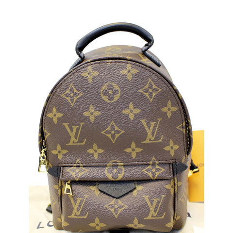 LOUIS VUITTON Palm Springs Mini Monogram Canvas Backpack
