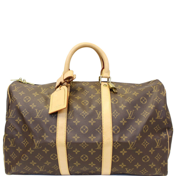 Louis Vuitton Keepall 45 Monogram Duffle - Lv Travel Bag