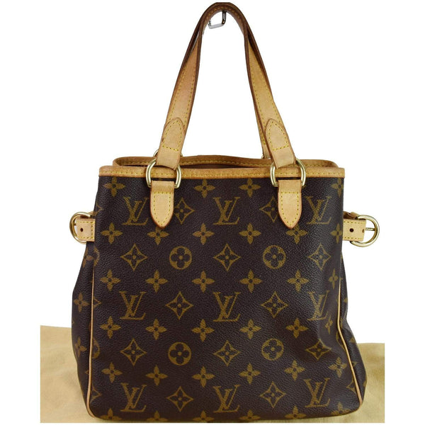 Louis Vuitton Batignolles Vertical Monogram Canvas Bag - amazing exterior