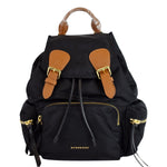 BURBERRY Medium Runway Rucksack Nylon Backpack Black