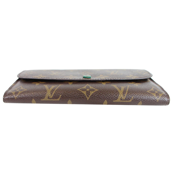 Louis Vuitton Emilie Monogram Canvas Wallet Front view