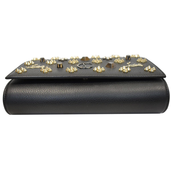 Louis Vuitton Paloma Embellished Leather Clutch front view