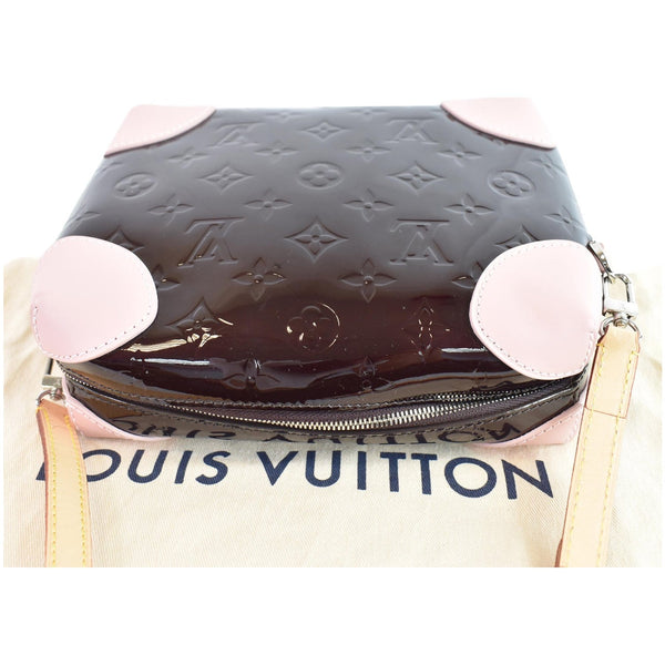 LOUIS VUITTON Venice Monogram Vernis Leather Shoulder Bag Amarante