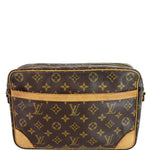 LOUIS VUITTON Trocadero 23 Monogram Canvas Shoulder Bag Brown