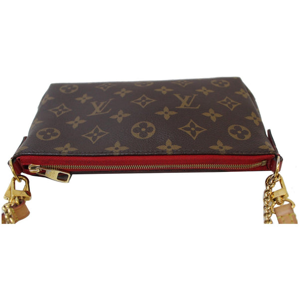 Louis Vuitton Pallas Monogram Canvas ZipperBag