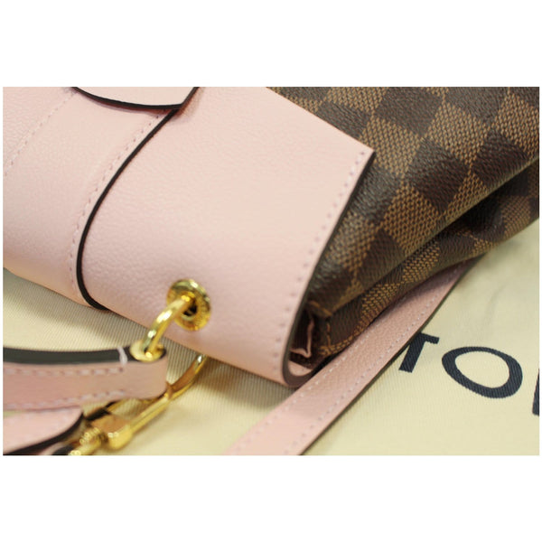 Louis Vuitton Clapton Damier Ebene Backpack Bag top in pink