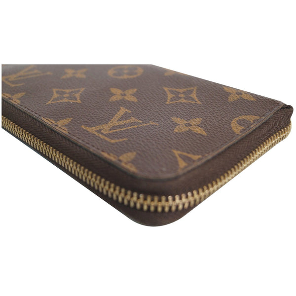 Louis Vuitton Monogram Zippy Canvas Organizer Wallet corner view