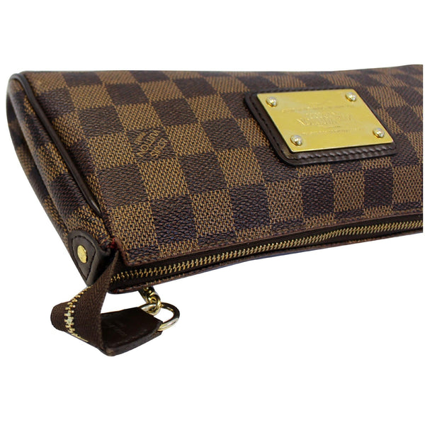 Louis Vuitton Pochette Eva - Lv Eva Clutch Damier Bag - leather