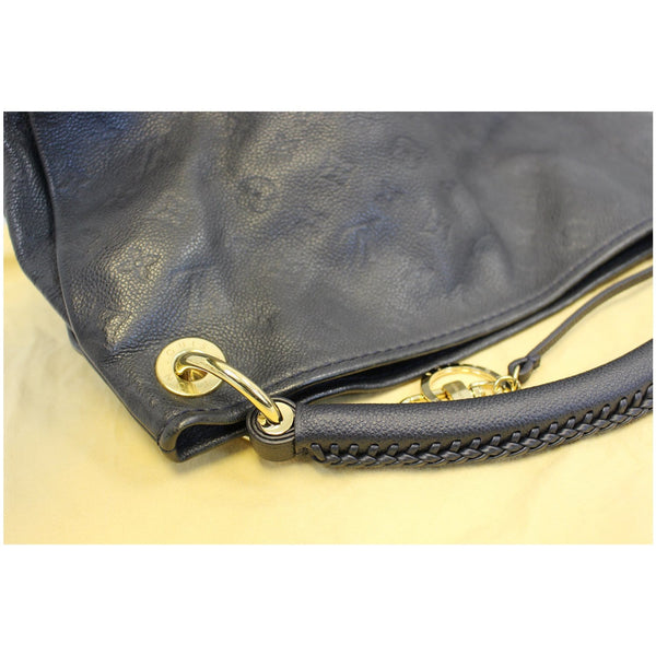 Louis Vuitton Artsy MM Empreinte Blue Infini Monogram Shoulder Bag-US