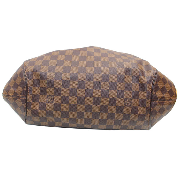 Louis Vuitton Sistina GM Damier Ebene Shoulder backside